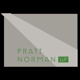 PrattNorman_Logo_rev green