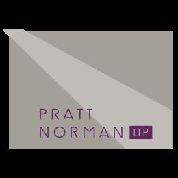 PrattNorman_Logo_rev purple