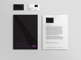 purple stationary