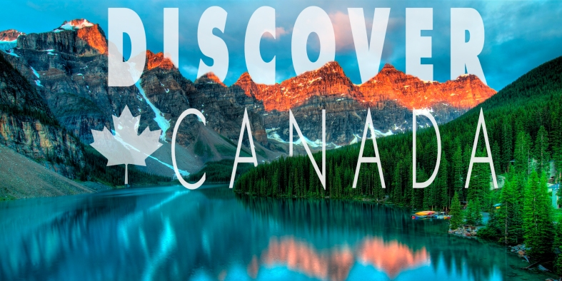 Discover Canada combining text and images