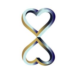 Infinity Heart Design