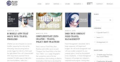 PLUS Travel Group Blog Image