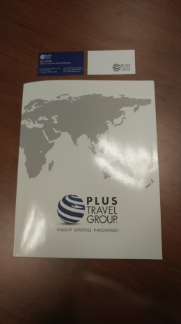 Plus Travel Group Stationary